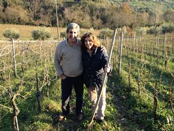 Tuscan Hills, couple
